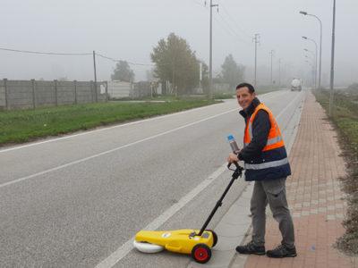 Mappatura sottoservizi con georadar - Localizzazione servizi - Bizzotto Alberto