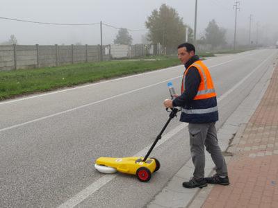 Mappatura sottoservizi con georadar - Localizzazione servizi - Bizzotto Alberto Castelfranco Veneto